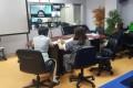 กองพัฒนาคุณภาพ Video Conferencing ร่วมกับมหาวิทยาลัยในเครือข่าย UKM