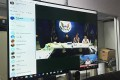 กอง IT ให้บริการระบบ Video Conference ให้กับหน่วยงานกองวิเทศสัมพันธ์